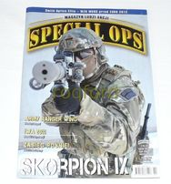 """Magazyn ludzi akcji """" Special OPS"""" rok 2011"""