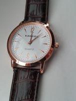 Piękny różowo złoty zegarek Kangol garniturowy Okazja