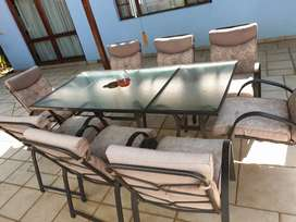Patio table, 8 seater