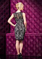 Нарядное вечернее платье футляр XS+чокер в подарок!