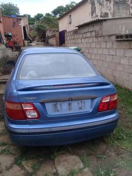 Nissan Almera 2002 Model with extra computer box, ignition and keys.