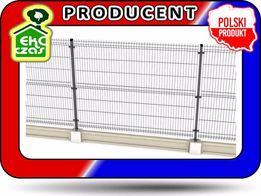 Panel ogrodzeniowy 153cm ocynk drut 4 mm-ogrodzenie systemowe panelowe