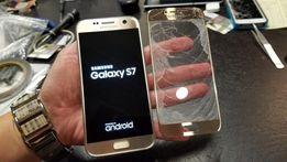 Переклейка разбитого стекла замена на айфон самсунг мейзу