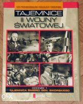 Sprzedam film DVD Tajemnice II Wojny Światowej 5 płyt STAN BDB