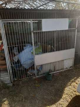 Cage ideal for pigeons or birds.