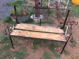 Garden Bench - upcycled