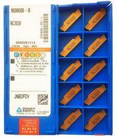 Токарные пластины отрезные MGMN300-M NC3030 (толщина - 3 мм, длина 21)