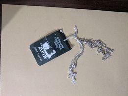 Крестик серебряный с цепочкой