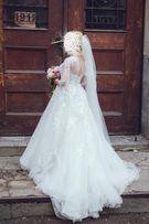 Вишукана весільна сукня/свадебное платье фірми NAVIBLUE (оренда)