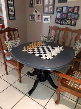 Antique hand carved Chess set.