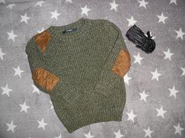 Теплый вязаный свитер на мальчика George 18-24 месяца 86-92 см