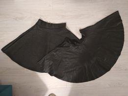 Spódnice eco skóra lambadówy do tańca, rozkloszowane