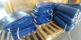 top quality (700gsm) pvc truck covers/tarpaulins and cargo nets