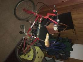 Old stile bmx with many extras