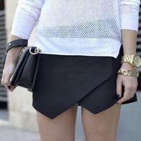 Шортики чёрного цвета от бренда New look