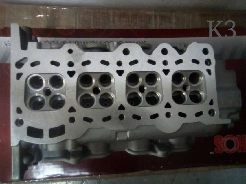 TOYOTA AVANZA 1.3 [K3] COMPLETE AND BARE CYLINDER HEAD CONTACT ME
