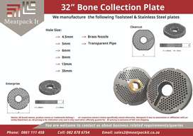 Mincer & Bone Collection Plate