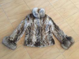 норковый полушубок Saga Furs Royal