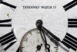 Часы карманные Tavannes watch