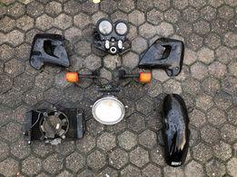 продам переднюю часть мотоцикла Honda cb500