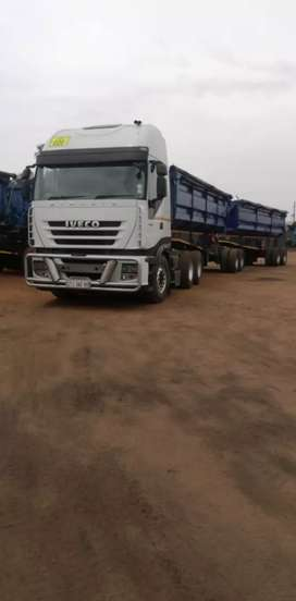 Iveco Stralis 460 plus trailers For Sale