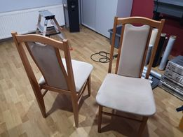 Krzesła 2 sztuki stan BDB