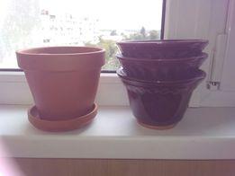 горшки для цветов керамические