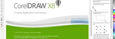 Image of Full Corel Draw X8 Software