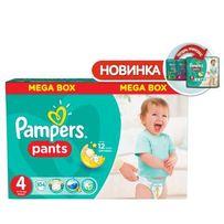 Подгузники-трусики pampers pants maxi mega 4 (9-14 КГ.), 104 шт.