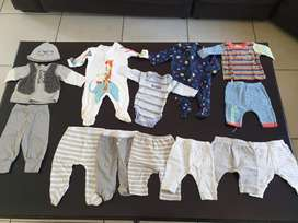 Baby winter clothes Boys 0 to 6 months