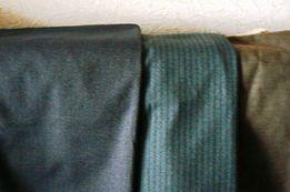 Ткань брючно-костюмная шерстяная, СССР