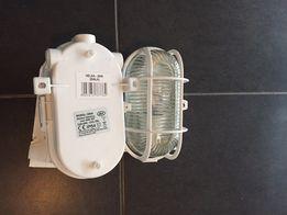 Lampa halogen garaż przemysłowa oświetlenie