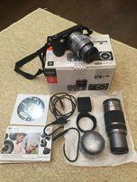 Фотоапарат Sony Nex F3 + два объектива Е18-55мм и E55-210mm+подарок.