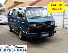 1995 VW MICROBUS 2.6 MANUAL 7 SEATER