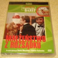 (3) Małżeństwo z rozsądku- komedia Stanisław Bareja- Film DVD-folia