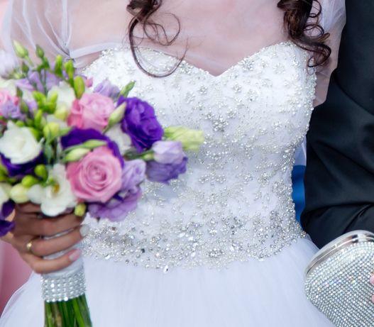Suknia ślubna Justin Alexander 8724 rozm. 34 Strzelce Opolskie - image 3