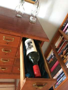 Winerack - Library Card Catalogue Cabinet