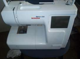 bernina 330 embroidery machine with B hoop only in working condition