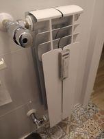 Grzejnik łazienkowy z termostatem regulowanym
