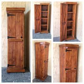 Kitchen Cupboard Farmhouse series Free standing 1750 - Stained