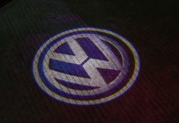 VW GOLF 4 Touran Caddy Bora Led Logo Projektor Lampki Powitalne