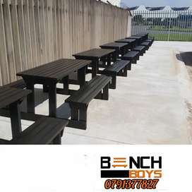 Restaurant and pub benches