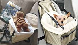 New! Pet  Dog Cat Booster Seat with safety Strapfor Car