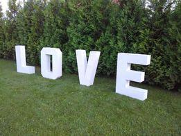LOVE буквы букви слово декор фотосесія весілля оренда свято