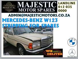 Mercedes-Benz w123 stripping for spares