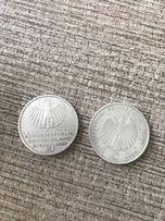 Серебрянные монеты 10 евро BRD немецкие 2004 и 2009 года