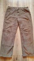 Spodnie sztruksowe ocieplane dla dziecka