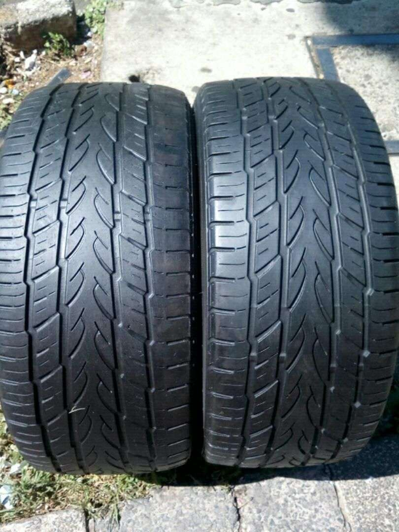 2 X 235/45/17 tyres for sell 0