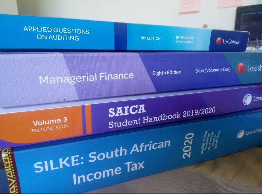 3rd year Accounting /CTA(PGDA) textbooks