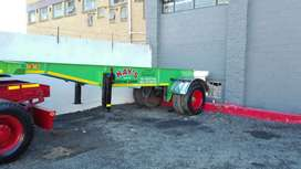 6m Single axle trailer
